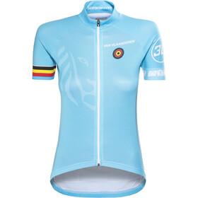 Bioracer Van Vlaanderen Pro Race Kortärmad cykeltröja Dam blå